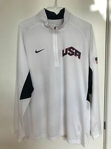 Lebron James 2012 Nike Dry Fit Team USA Olympics Shooting Shirt Size XL