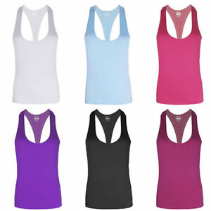 Women Fitness Sports Tank Top Seamless Blouse Stretch Vest GYM Quick-dry Shirt
