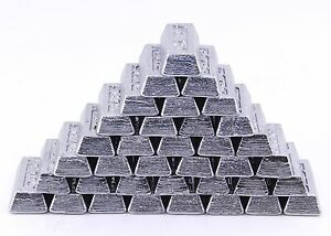 40 lbs Linotype Lead Bar Ingots For Bullet Casting
