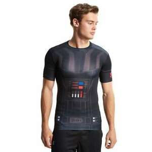 (XL) Limited Edition Men's Under Armour Star Wars Darth Vader Compression Shirt