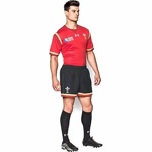 Men's Official 1516 Wales Rugby Away WRU Supporters Shorts by Under Armour