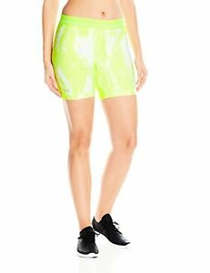 Under Armour Women's HeatGear Printed Mid Short - Choose SZColor