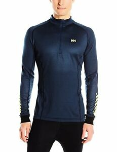 Helly Hansen Men's HH Dry Charger 12 Zip Long Sleeve Base Layer Shirt