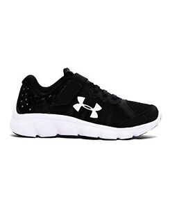 Under Armour 1266384-001 Little Boys Pre-School UA Assert 6 AC Running Shoes 12