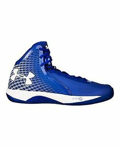 Under Armour Mens UA Micro G Torch Basketball Shoes 18 TEAM ROYAL