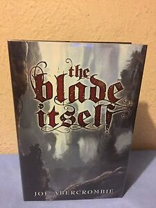 The Blade Itself (The First Law) SIGNED LIMITED EDITION by Joe Abercrombie RARE!