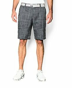 Under Armour Mens UA Match Play Patterned Shorts  Steel- Choose SZColor.