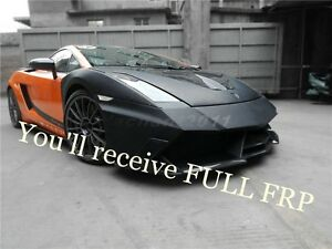 FRP Fiber Glass Bar Fit For 03-07 Lamborghini Gallardo YC Design Front Bumper