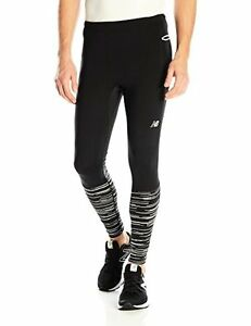 New Balance Clothing MP61236 Mens Precision Run Tights M- Choose SZColor.