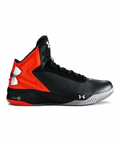 Under Armour Mens UA Micro G Torch Basketball Shoes 15 Graphite