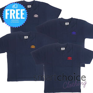 Umbro T-Shirts for Boys and Girls Genuine Sports Gym Casual Wear Medium Large