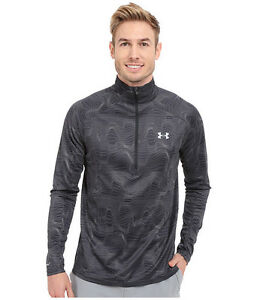 New Under Armour Ymer Top Athletic Shirt Grey Mens Dry Fit All Sizes1271587-001