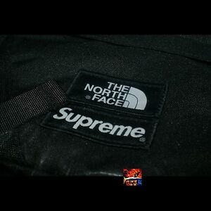 Supreme x The North Face Steep Tech Black Backpack Bag PCL FW15