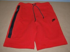 Nike Tech Fleece Printed Tapered Men's Shorts 819598-657 - Size Medium MSRP $90
