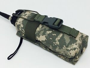 New Initial Attack US Army Military Radio Comms Molle Pouch Digital Camo ACU