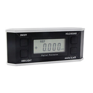 Electronic Digital Protractor Inclinometer Angle Bevel Box With light 5515 90D $40.04