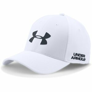 UNDER ARMOUR NEW Mens Men's Golf Headline Cap - White BNWT