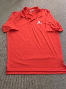 Orange Dry Fit Under Armour Shirt size Large