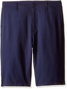 Under Armour Boys' Medal Play Golf Shorts Midnight NavyGraphite Youth Large