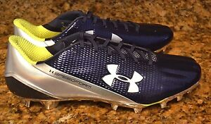 $130 Under Armour UA SPEEDFORM MC Football Cleats 1258013-412 Men 9 BlueChrome