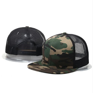 2017 New Men Hat Women Baseball Cap Hip-Hop Adjustable Camo Snapback Mens Hats