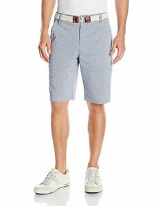 PUMA Golf NA 57052101 Puma Mens Plaid Shorts SZ- Choose SZColor.