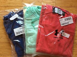 NWT $100 Under Armour Womens ColdGear® Expanse Hoodie jacket fleece Full Zip $44.95