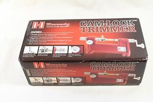 Hornady Cam Lock Case Trimmer BRAND NEW with Shell Holders