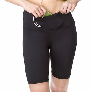 Sport-it Active Long Shorts  Workout Bike Shorts with Pockets  Womens Running