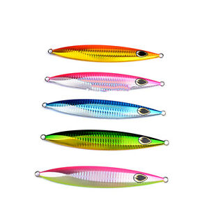 5pcs Fishing Jigs 150g Micro Knife Jigs Butterfly Kingfish Salmon Snapper Lures