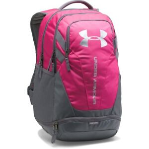 UNDER ARMOUR NEW Hustle 3.0 Backpack Tropic Pink BNWT