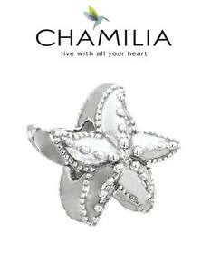 Genuine CHAMILIA 925 sterling silver STARFISH charm bracelet bead beach holiday