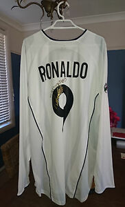 Ronaldo Inter Milan Match Prepared Maglia Shirt
