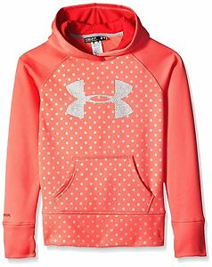 Under Armour 1250403-676 Girls UA Big Logo Fleece Hoodie Youth S