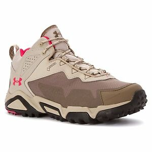 Under Armour 1257746-225 UA Tabor Ridge Low Shoe - Womens Uniform  Desert Sand