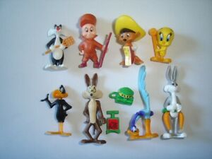 LOONEY TUNES 1997 KINDER SURPRISE FIGURES SET WB FIGURINES COLLECTIBLES