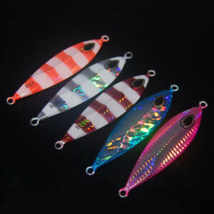 5 Micro Jigs Butterfly Metal Jig Fishing Lure 40-250g Snapper Jigging Tuna Lures