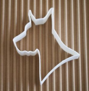 My Gentle Great Dane Cookie Cutter or Christmas Ornament