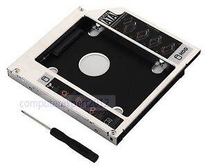 2nd HD Hard Drive HDD SSD Caddy Adapter for iMac 20 21.5 27 2009 2010 2011 2012