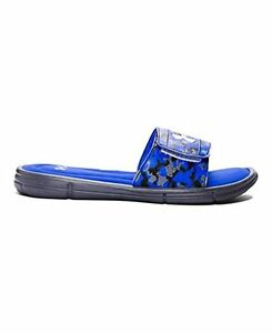 Under Armour 1287308-400-11 Mens Ignite Deception V SL Slide Sandal