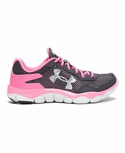 Under Armour 1258908-019 Girls Grade School UA Engage II Running Shoes 5