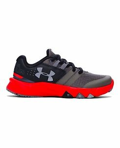 Under Armour 1273994-040 Boys Pre-School UA Primed Running Shoes 13K Graphite