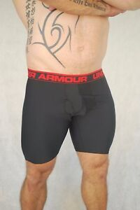 MENS UNDER ARMOUR MENS 9 inch BoxerJock   - In Oz -  Footy Gym Lifting - NEW XL