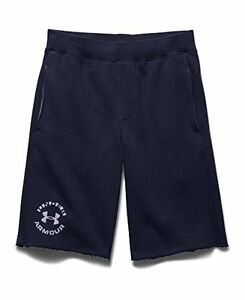 Under Armour 1264402-470 Big Boys UA Rival Fleece Shorts Youth  BLUE KNIGHT