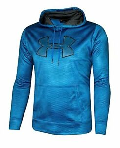 Under Armour Men's Storm Fleece Big Logo Hoodie Athletic Hooded Printed Shirt