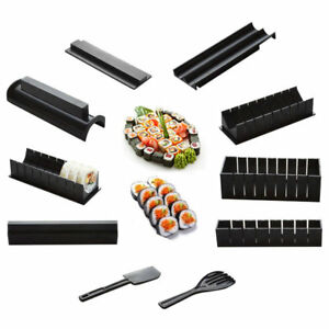 Sushi Maker 10 Pieces Rice Ball Cake Roll Mold Multifunctional Sushi Making
