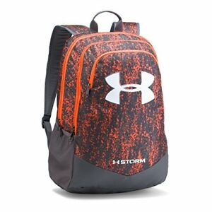 Under Armour Boys' Storm Scrimmage Backpack Magma OrangeRhino Gray One Size