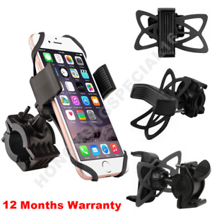 Universal Bicycle Motorcycle Bike Handlebar Mount Holder For Cell Phone $7.89