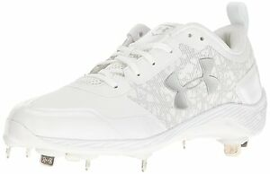 Under Armour 1293900-100-7 Mens Yard Low ST Baseball Cleats- Choose SZColor.