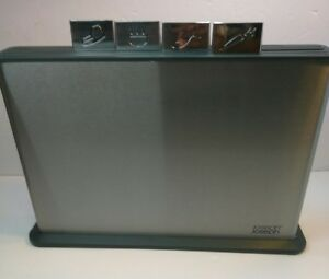Joseph Joseph Index 100 Chopping Board Set with Stainless Steel Case